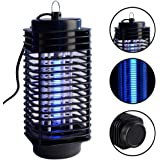 Electric Insect Killer Mosquito Fly Bug Zapper Trap UV Lamp Catcher Bug Indoor Outdoor