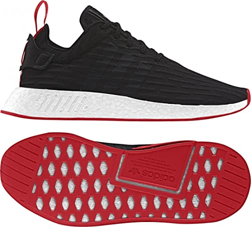 newest collection a75cc 7386f adidas NMD R2 Prime Knit BA72 5.5, Black/White/red