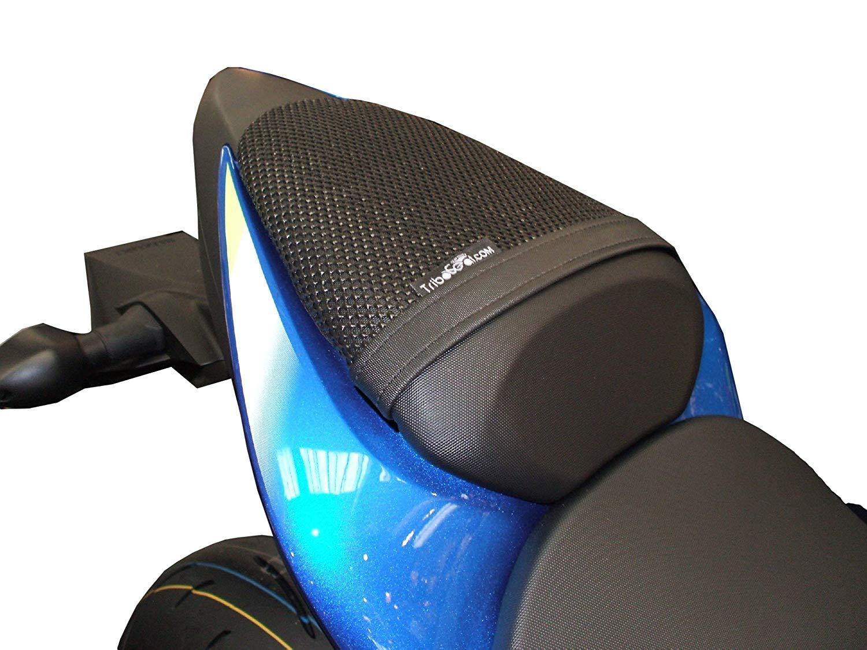 Cubierta TRIBOSEAT para Asiento Antideslizante Accesorio Personalizado Negro Compatible con Suzuki GSX-S 1000 /& ABS 2015-2019