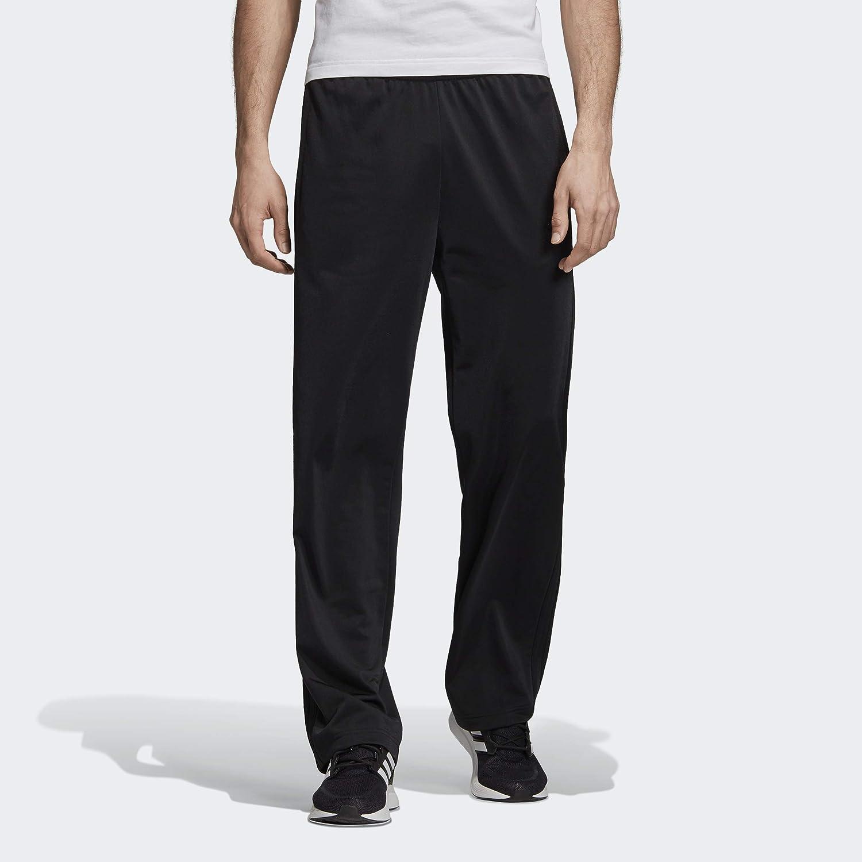 adidas Men's Essentials 3 stripes Open Hem Tricot Pant