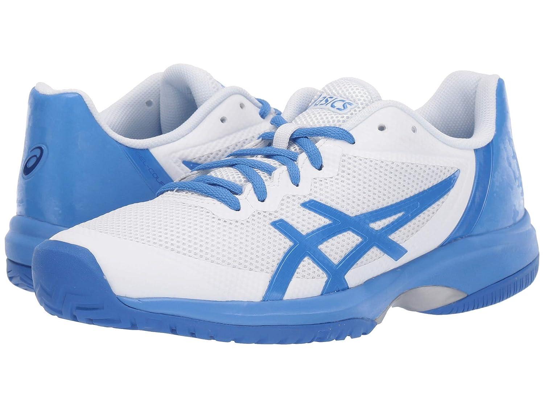 【大放出セール】 [アシックス] レディースランニングシューズスニーカー靴 Gel-Court cm Blue Speed 22.5 [並行輸入品] B07N8DCZTV White/Costal Blue 22.5 cm B 22.5 cm B|White/Costal Blue, 十津川村:646b048f --- senas.4x4.lt