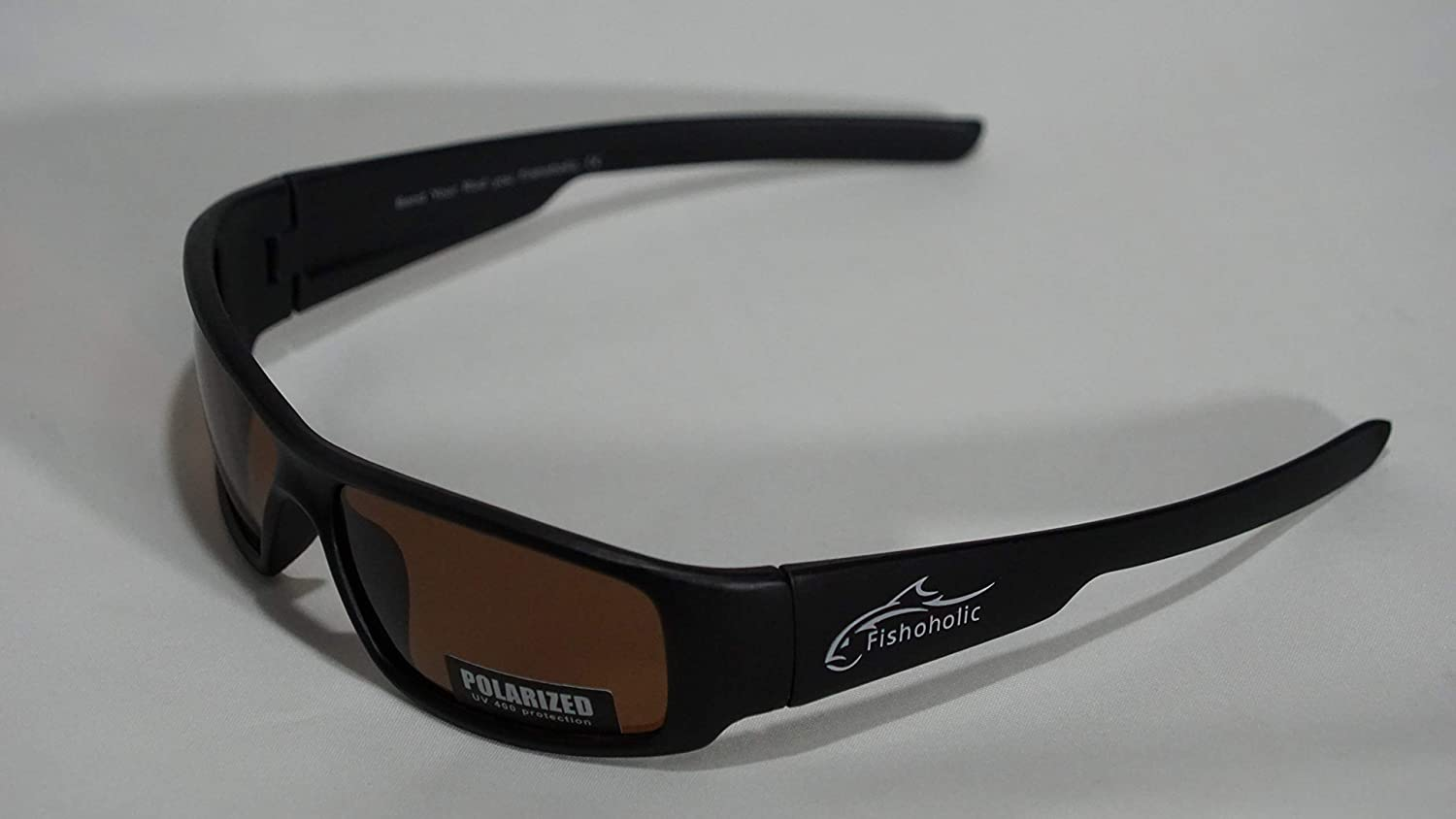 R 4 Color Options Fishoholic Polarized Fishing Sunglasses Great Gift to Fish River Lake Bass Saltwater /& Flyfishing TM w Lens Cleaning Pouch UV400 100/% UV Protection