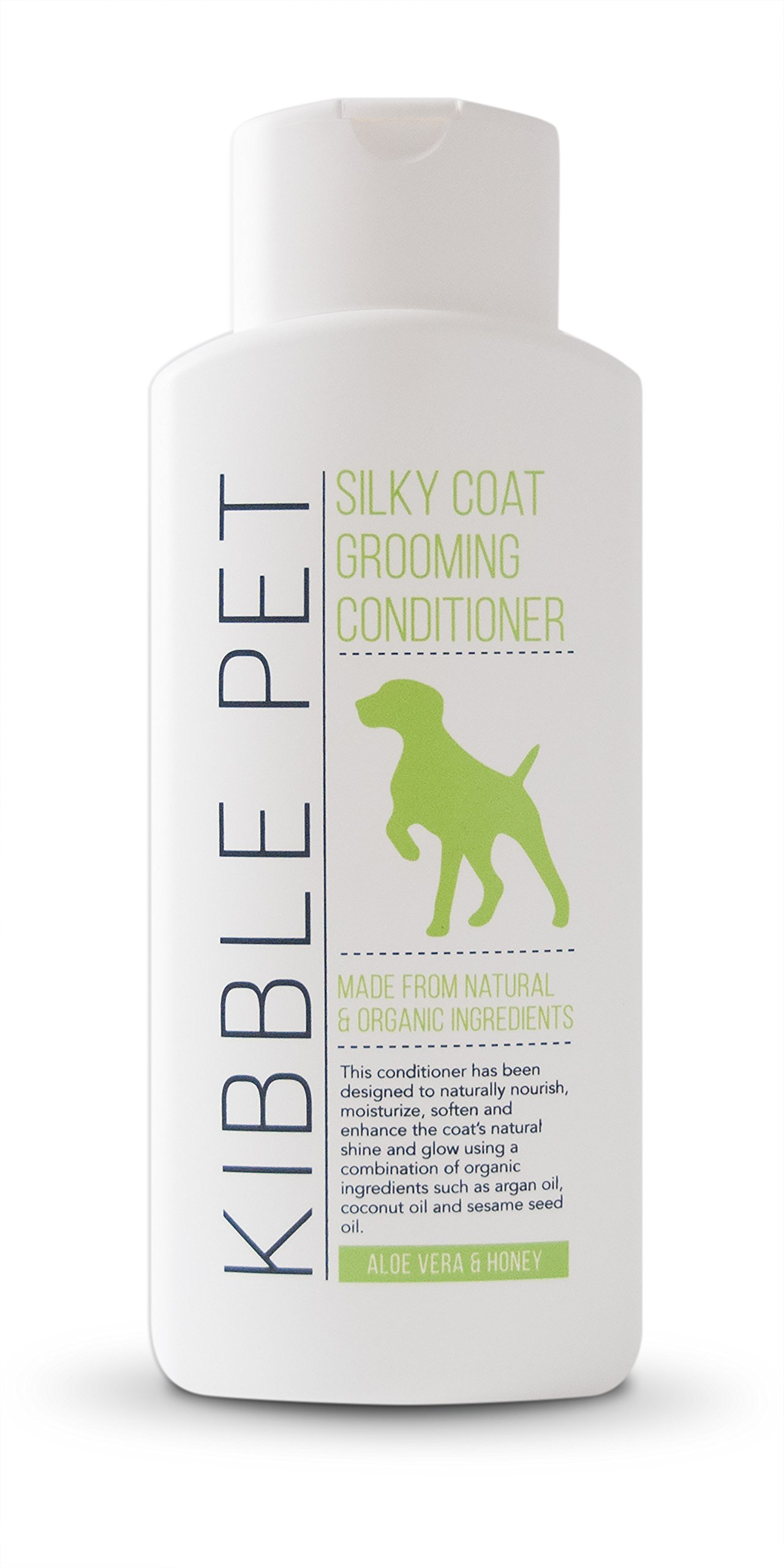 Kibble Pet Silky Coat Grooming Conditioner, Aloe Vera and Honey (13.5 Ounces)