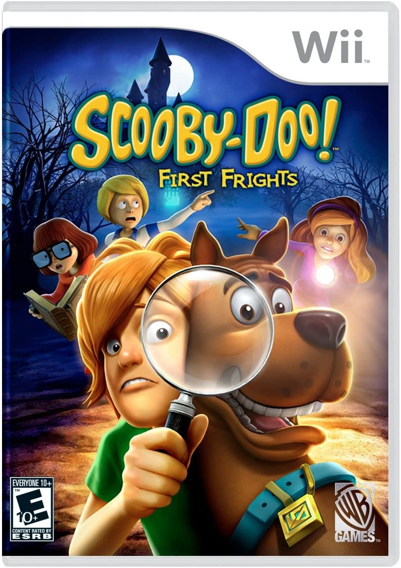 WB Games Scooby Doo First Frights - Nintendo Wii (Renewed)