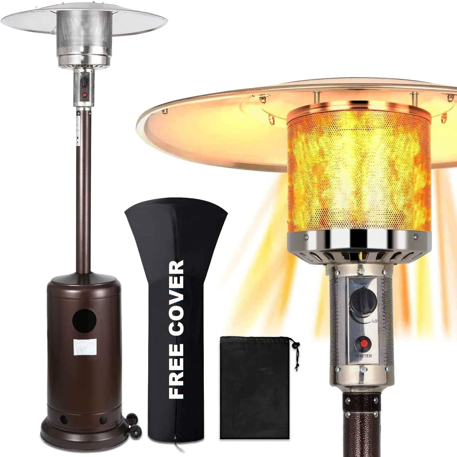 Outdoor Patio Propane Space Heater
