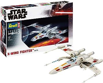 Revell- Star Wars X-Wing Fighter Kit Modello, Color Plateado (06779): Amazon.es: Juguetes y juegos