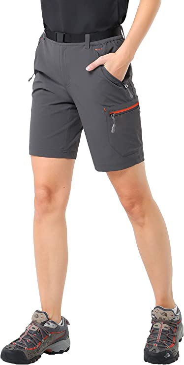 MENS WALKING CARGO SHORTS HIKING WATER RISISTANT TECHNICAL