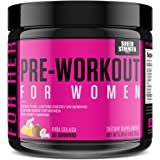 Pre Workout for Women with L Arginine (v2) - Energy, Stamina, Healthy Weight Loss | Non-GMO & Non-Habit-Forming | Nitric…