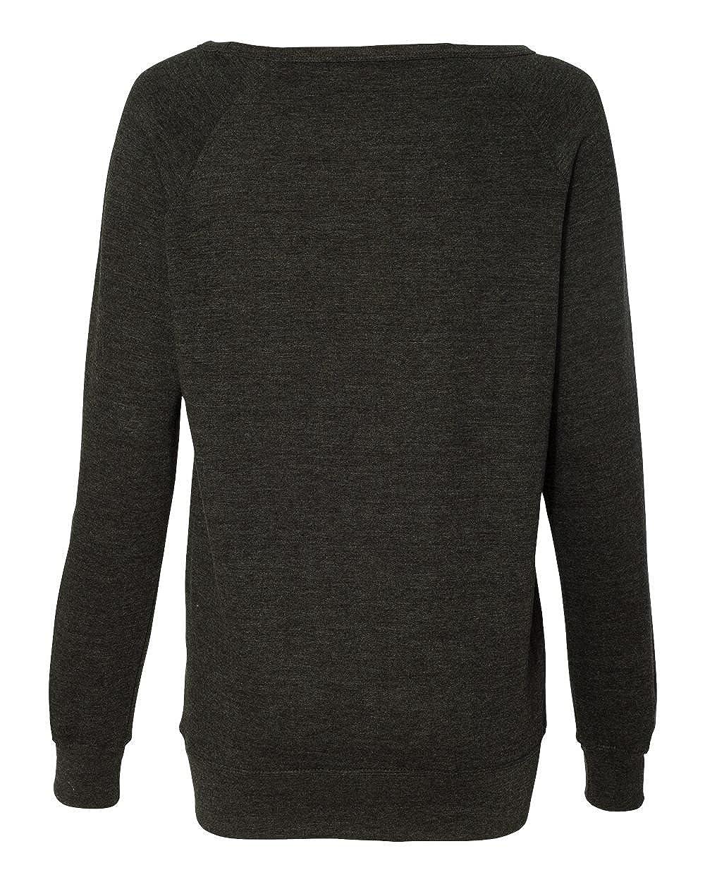 SS240 Independent Trading Co Juniors Heavenly Fleece Crewneck Sweatshirt