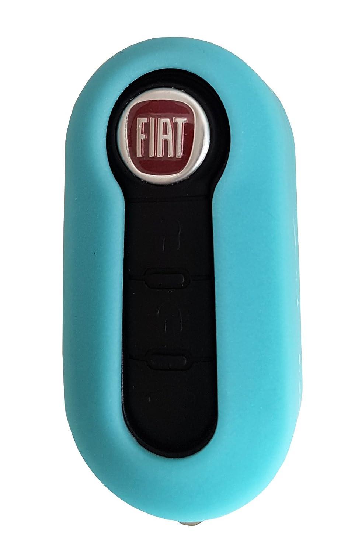 Fiat pour cl/é de voiture Fiat 500/Panda Punto Bravo /Étui coque en silicone CK