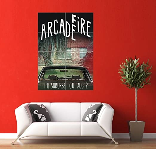 ARCADE FIRE GIANT ART PICTURE AFICHE CARTEL IMPRIMIR ...