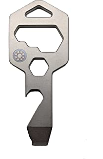 Pocket Multi Tool For Survival Keychain Wrench Screwdriver Bottle