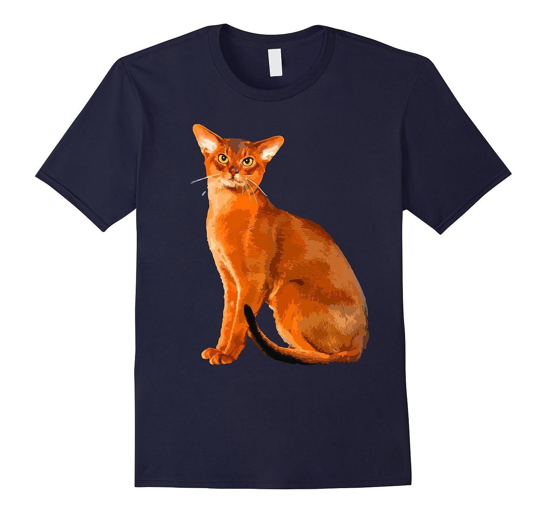 Abyssinian Cat Shirt - Abyssinian Cat Body Cute T shirt-AZP