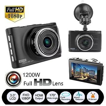 Full HD 1080P Cámara de Coche, Damark(TM) Cámara para Coche DVR Dashcam