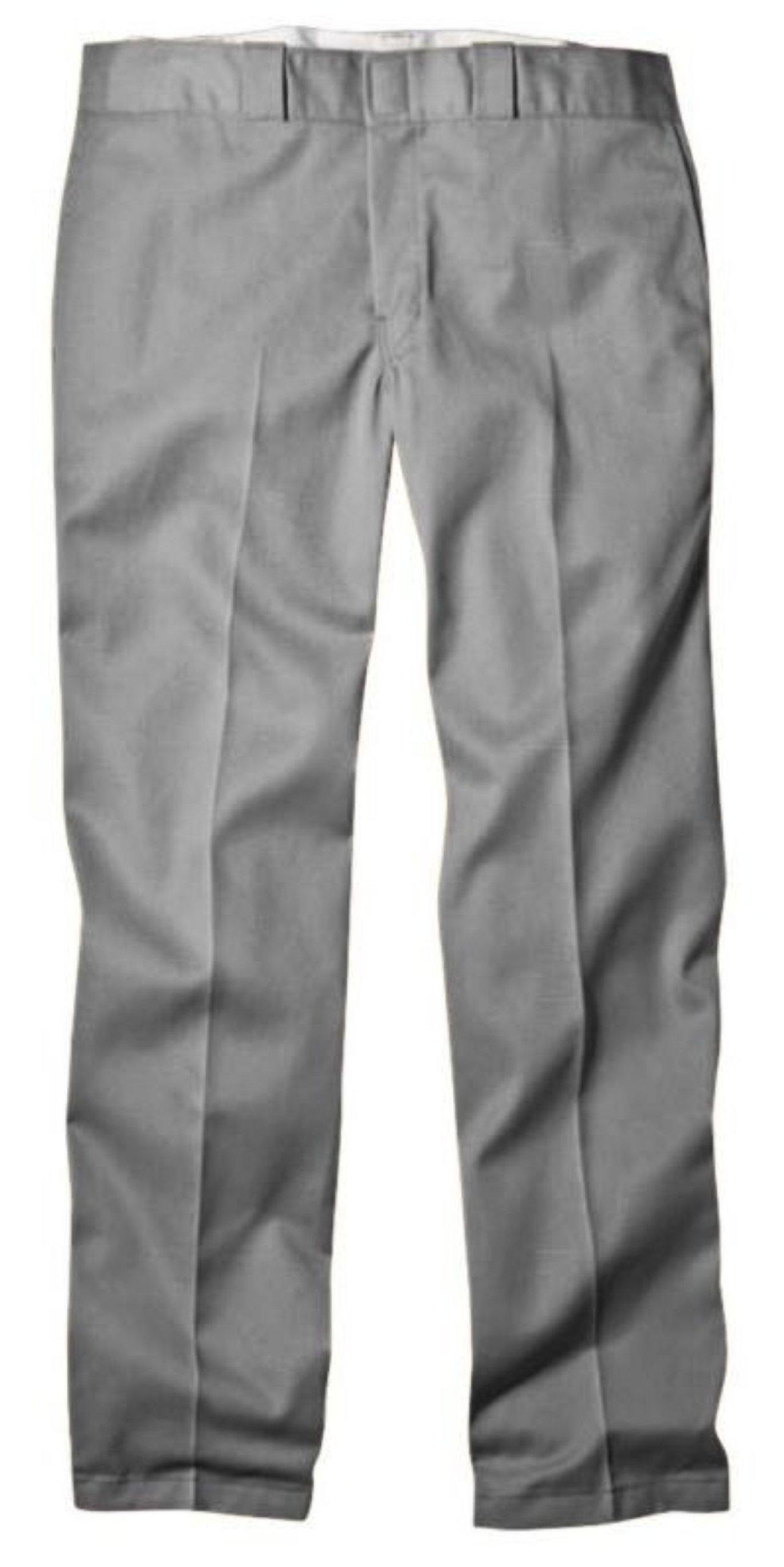 Dickies Men's Original 874 Work Pant Silver 32W x 32L