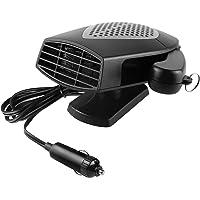 $23 » Portable Car Heater, 12V 150W 2 in 1 Fast Heating Fan Defroster Demister Car Amplifier Cooling…