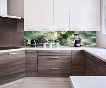 Cocina Pared Trasera Caja mágica Design M0770 240 x 50 cm (W x H)