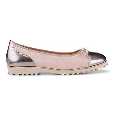 Ballet Flats Ballerina Shoes for Women On Sale, Grey, Fabric, 2017, 3.5 4.5 5.5 Pretty Ballerinas