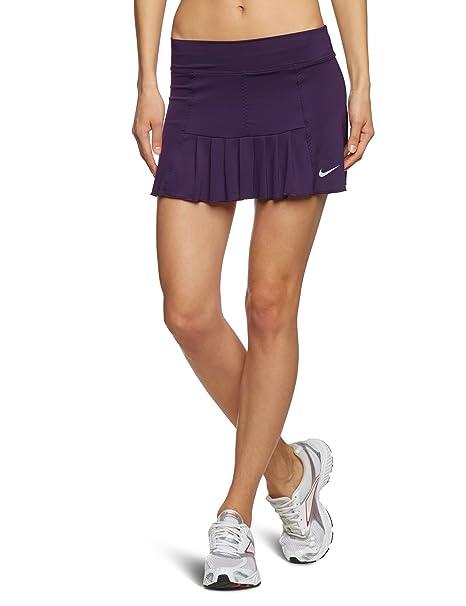 Nike - Falda de pádel para Mujer, tamaño S, Color Grand Morado ...