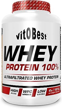 WHEY PROTEIN 100% 4 Lb VAINILLA - Suplementos Alimentación y Suplementos Deportivos - Vitobest