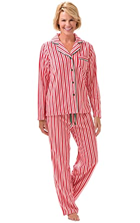 57e90d7761 PajamaGram Christmas Pajamas for Women - Fleece Pajamas Women ...