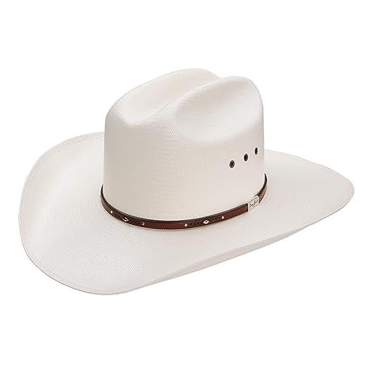 8ba28a3d03550 Image Unavailable. Image not available for. Color  Resistol Men s George  Strait Palo Duro 8X Straw Cowboy Hat ...