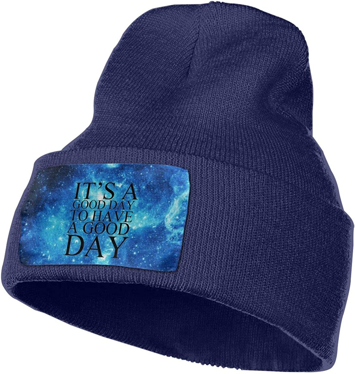 What A Great Day Winter Beanie Hat Knit Skull Cap for for Men /& Women