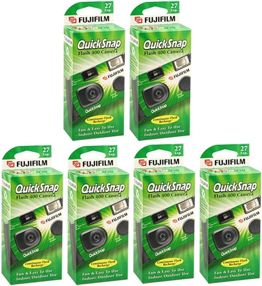 Fujifilm QuickSnap V400 cámara de un solo uso
