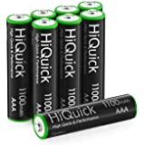 HiQuick AAA Rechargeable Batteries AAA Batteries 1100mAh High Capacity Performance 1.2V, Per-Charged Ni-MH AAA Battery…