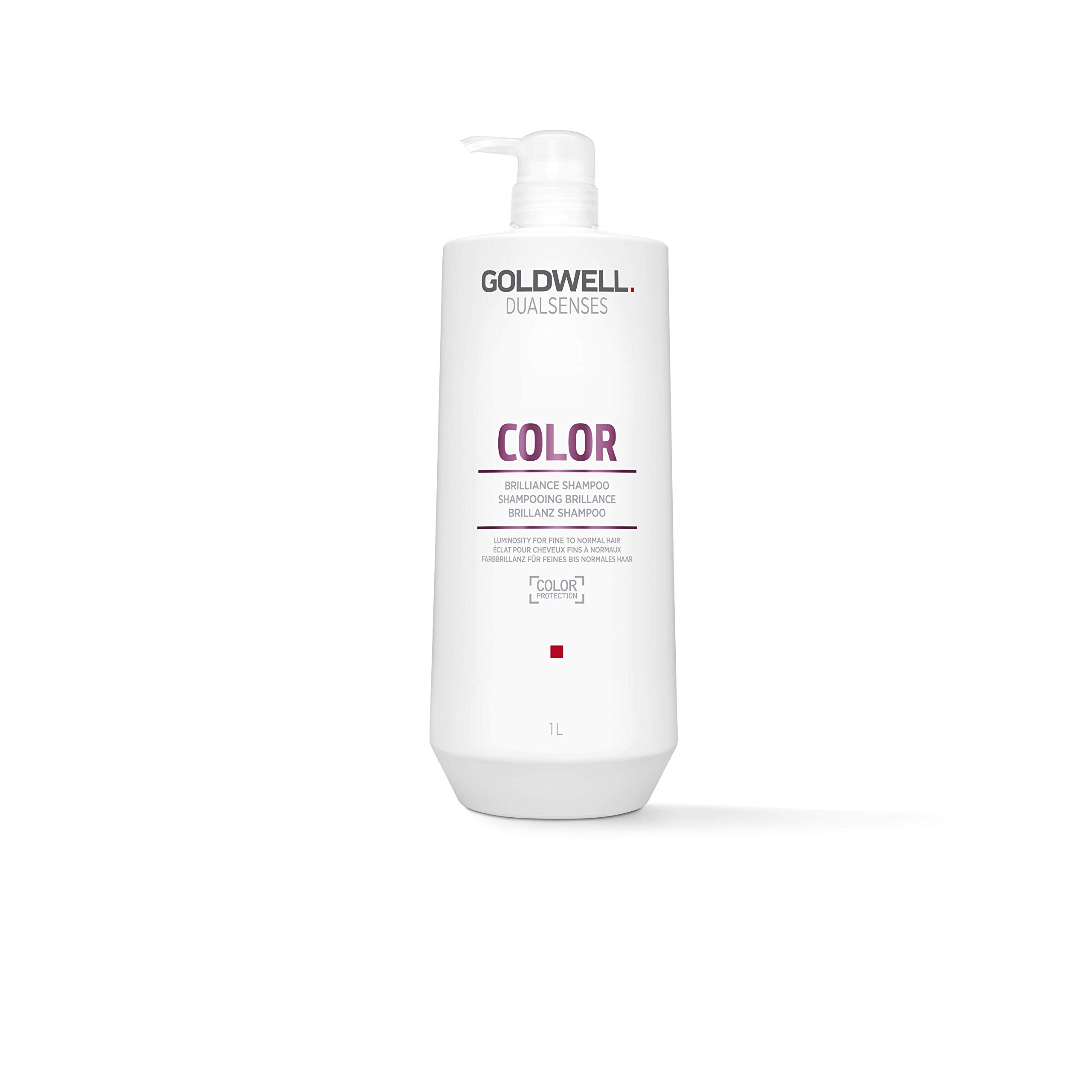 Goldwell Dualsenses Color Brilliance Shampoo, 25.4 Ounce by Goldwell
