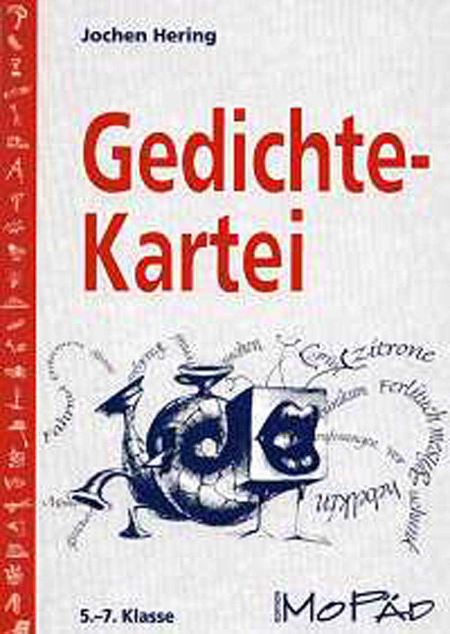 Gedichte Kartei 5 7 Klasse Jochen Hering
