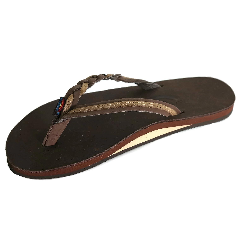 1e5f9d80c2d26b hot sale RAINBOW 301ALTSB FLIRTY BRAIDY EXPRESSO SIERRA BROWN WOMENS THONG  Size LG(7.5-8.5). Women•shoes · Sandals