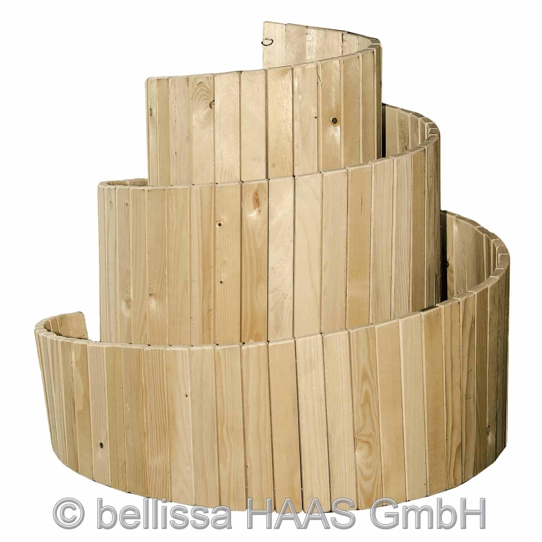 bellissa Kräuterspirale Holz
