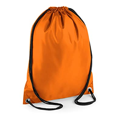 BagBase - Mochila saco o de cuerdas Impermeable/resistente al agua Deporte/Gimnasio (11 litros)