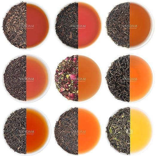 35 opinioni per Campionario di tè nero in foglie – 10 TÈ, 50 PORZIONI – 10 Tè neri esclusivi