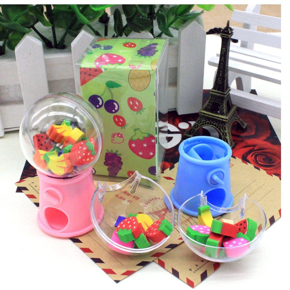 HKJYC Gashapon toy Fruit shape toy stationery eraser children's gift toys Originality by HKJYCstore (Image #4)