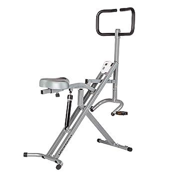 Ultrasport F-Rider Entrenamiento fitness, abdominales, tonificación abdomen, piernas y glúteos. Musculación y cardio, Negro: Amazon.es: Deportes y aire ...