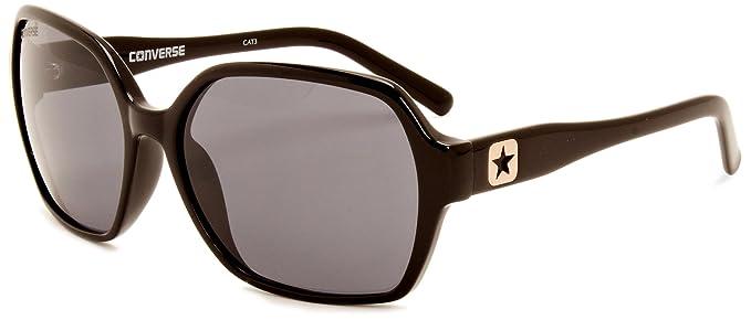 Converse - Gafas de sol Oversized Merch para mujer, Black ...