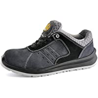 SAFETOE Men's Work Safety Shoes - L7331 Lightweight Sport Industrial and Construction Composite Toe Work Shoes