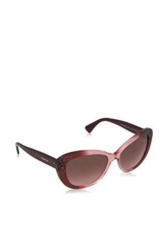 34a200a53d1c1 Image Unavailable. Image not available for. Color  Versace 4309B 515114  Purple 4309B Cats Eyes Sunglasses ...