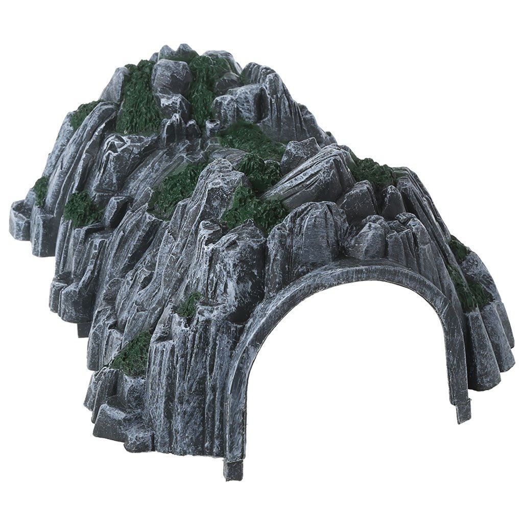 jigang Plastic Rockery Tunnel Track Train Slot Railway Accessories Toy