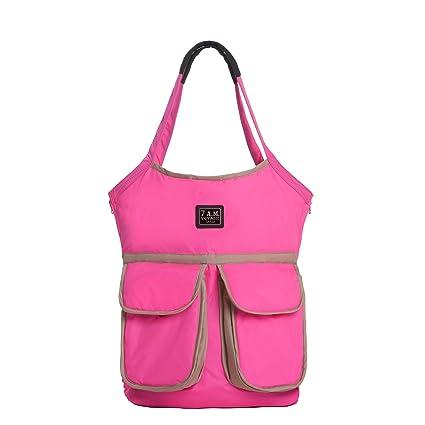7 AM Enfant Barcelona bolsa de pañales, neón rosa: Amazon.es: Bebé