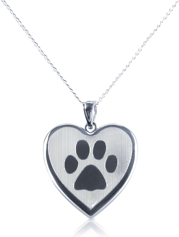 Sterling Silver Heart Shape...