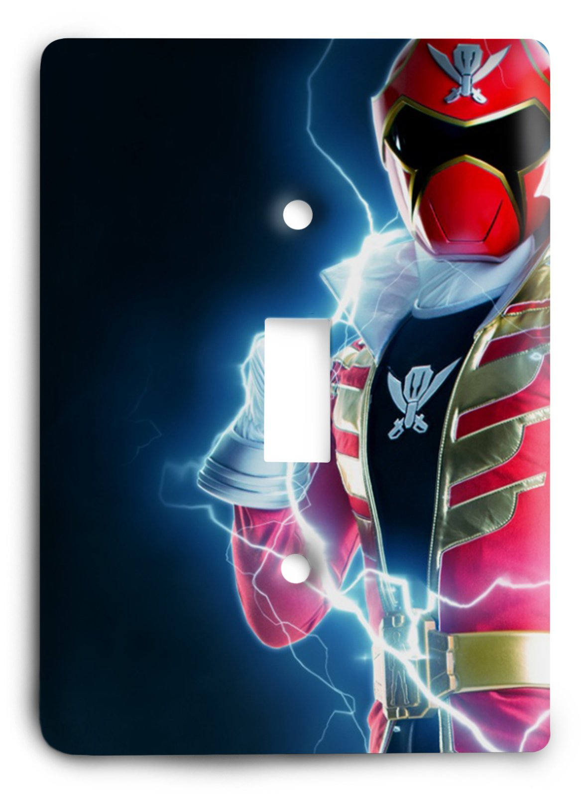 Red Power Ranger Light Switch Cover