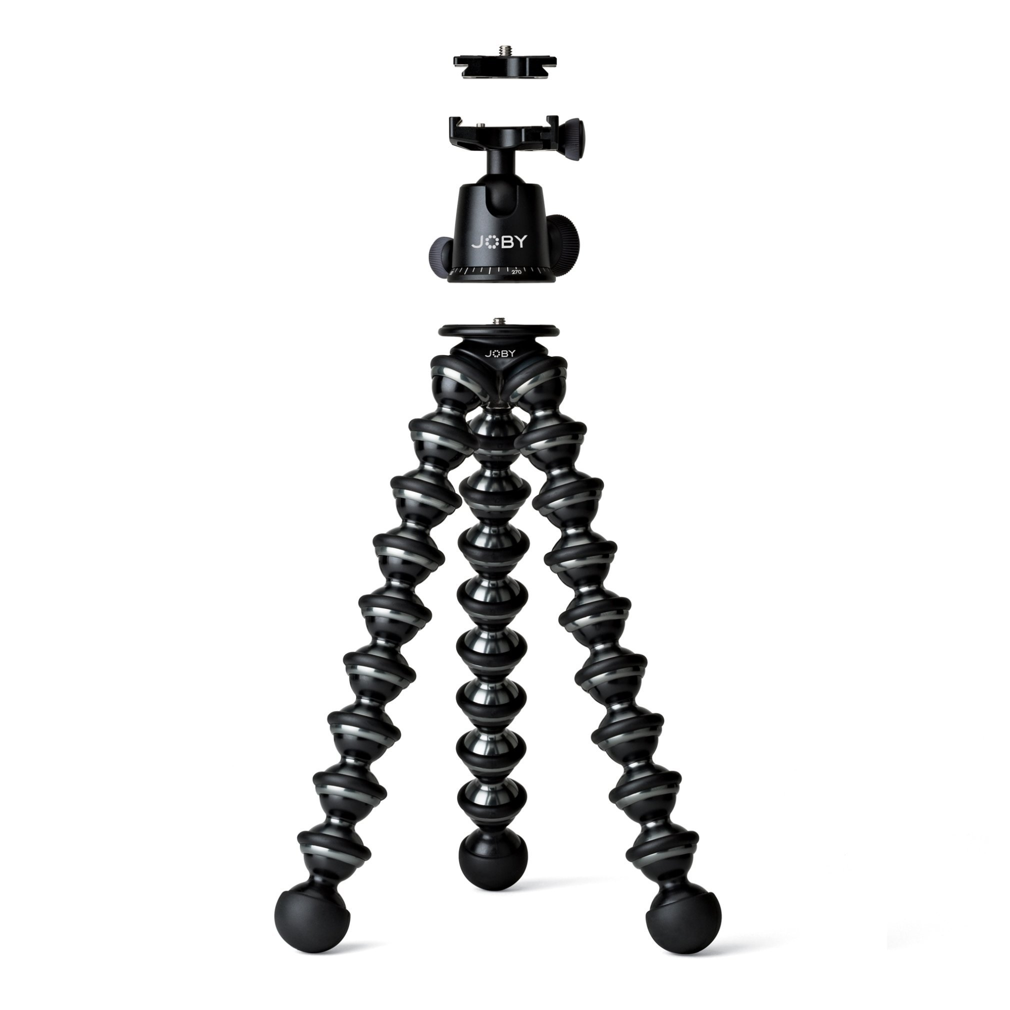 JOBY GorillaPod Focus with Ballhead X Bundle. Flexible Camera Tripod with Ballhead for DSLR Camera Rigs with Zoom Lenses up to 5kg. (Renewed) by Joby