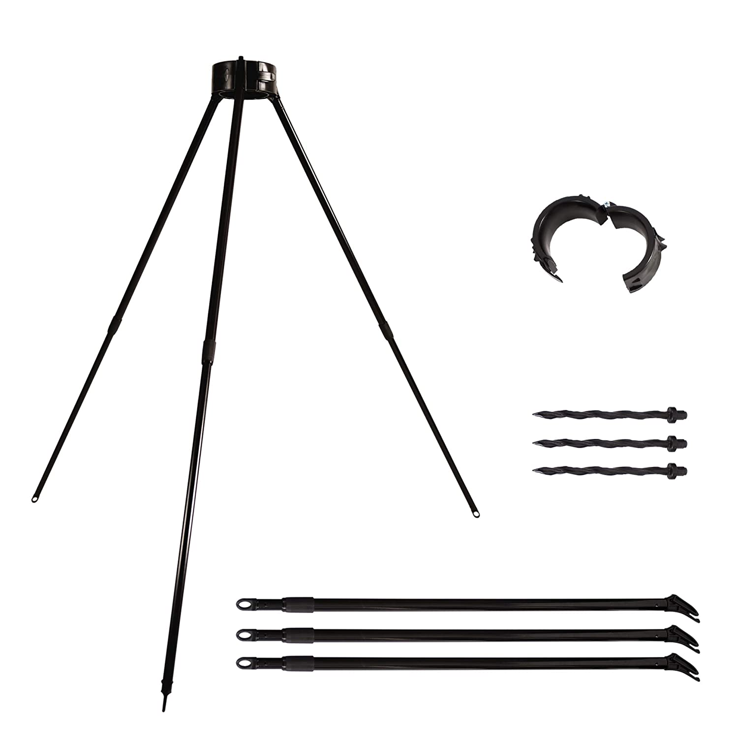 Kradl Tree Staking Kit   60 Second Assembly   Complete Tree Support Kit for The Best Stem Growth   Heavy Duty, Non-intrusive to Stimulate Root Growth