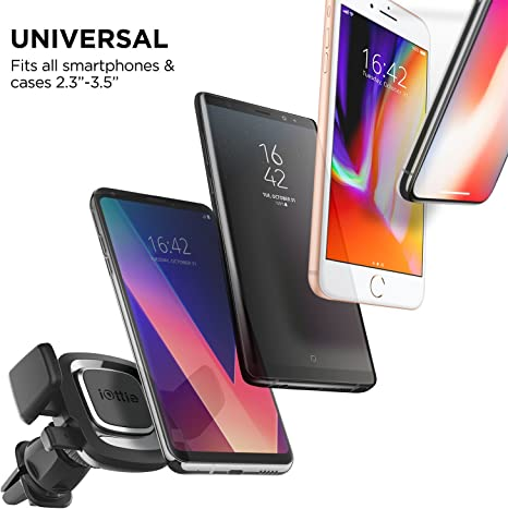 Iottie Easy One Touch 4 Air Vent Car Mount Halterung Für Iphone Xs Max R 8 Plus 10 W Für Samsung Galaxy S10 E S9 S8 Plus Edge Hinweis 9 Elektronik