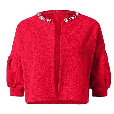 Women Sweater Mujer con Cuentas Collar de la Linterna de la Manga ...