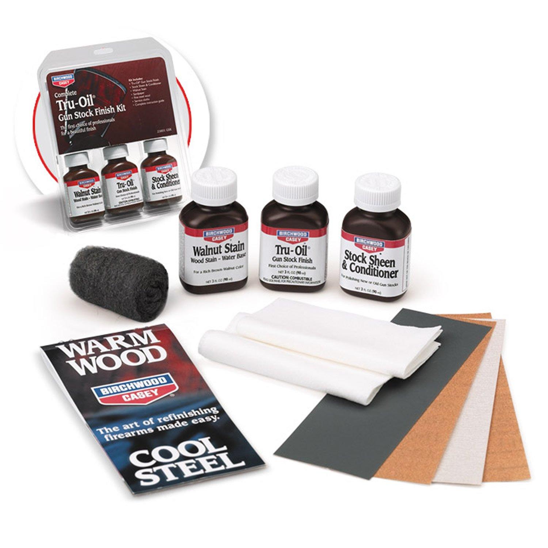 Birchwood Casey Tru-Oil Stock Finishing Kit