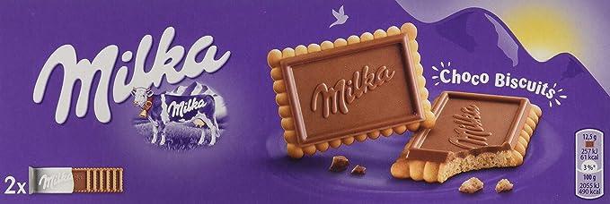 Milka Milka Chocolate Biscuits 150g 15000 G Lot Of 1